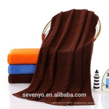 En gros 100% coton égyptien plissé tissé éponge softextile serviettes de bain dulk BtT-185 Chine Suppiler