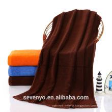 Atacado 100% Algodão Egípcio Liso tecido Terry softextile toalha toalhas de banho dulk BtT-185 China Suppiler