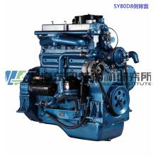 6-цилиндровый, 97 кВт, дизельный двигатель Shanghai Dongfeng для генераторной установки