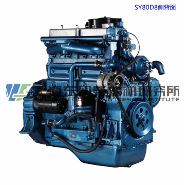 6 Cylinder, 97kw, Shanghai Dongfeng Diesel Engine for Generator Set