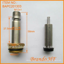 Armadura solenóide para válvula solenóide especial, diâmetro do tubo 13mm