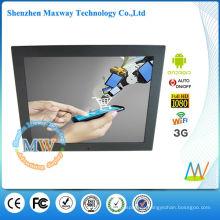 15 pulgadas 4: 3 android 3g pantalla de señalización digital para publicidad