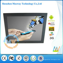 Exposição do signage digital do andróide 3g do 4: 3 de 15 polegadas para anunciar