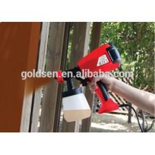 400W Mini HVLP Hand Held pistola de pulverización eléctrica de pistola de pintura de vacío eléctrico GW8176