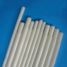 Customized Threaded Precision Alumina Ceramic Shaft Rod