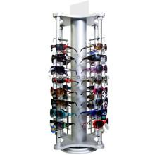 32 Pairs Sunglasses Or Eyewear Stand Counter Top Exhibited 4-Way Metal Rotate Eyewears Display Rack