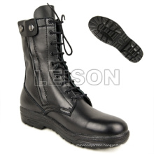 Military Tactical Boots of Full Grain Leather