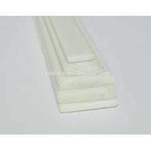 Barra plana de inserção de fibra de vidro para cortinas romanas