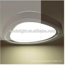 ¡nueva forma y alta calidad! Lámpara de techo de moda salón cuadrado lámpara led luz de techo led