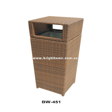 Отель Rattan Wicker Garbage Can Bw-451