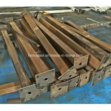 Structure en acier léger mobile Prefab House Building Frame