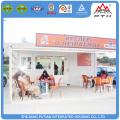 Materiales de construccion centro comercial prefabricado cafeteria