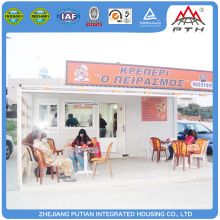 High quality temporary customized container coffee shop