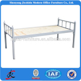 Platform bed frame metal platform bed military use steel single bed