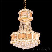 Corredor de cristal LED luz de teto pequeno candelabro teto lâmpada pingente de luz