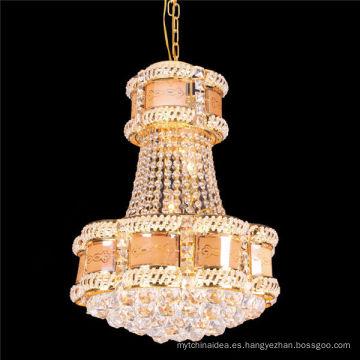 Lámpara colgante de la lámpara del techo de la lámpara de la luz de techo del cristal LED del vestíbulo