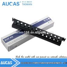 Große Qualität 19inch Stahl 1U Haus Kabel Management Rack für Sortierung Patchkabel und Lan Kabel