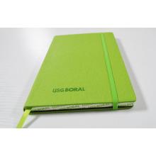 Caderno de exercícios de alimentação escolar com fecho de cinta Elástica