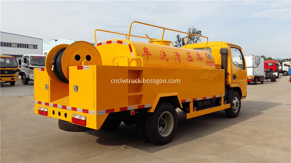 high pressure water truck 5