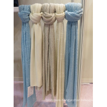 winter fall classic knitted wool cashmere scarf hot sale