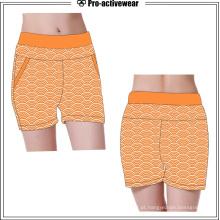 Alta qualidade de secagem rápida fitness roupas yoga shorts de corrida