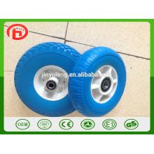 8-дюймовый пластиковой оправе высокого качества PU пены резиновое колесо для Японии, рынок Южной Кореи