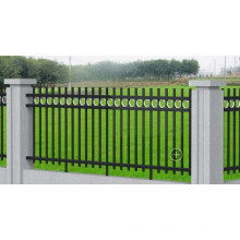 Outdoor Powder Coated Ornamental Steel Fence