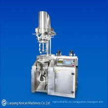 (TQFNDS-10L) Máquina de emulsión del vacío de la prueba de la escala media / emulsificador del vacío