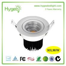 Dimmable светодиодный светильник, 12W SMD2835 Epistar COB светодиодный светильник