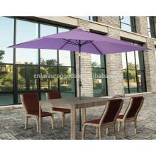 High quality popular rectangular garden sun shade umbrella  High quality popular rectangular garden sun shade umbrella