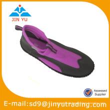 Transparente aqua Farbe Schuhe