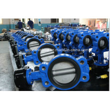 Ductile Iron Semi-Lug Butterfly Valve with CE & ISO Approved