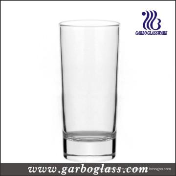 250ml cilindro cilíndrico de vidrio Highball copa de vidrio de agua de beber vidrio (GB01016008H)