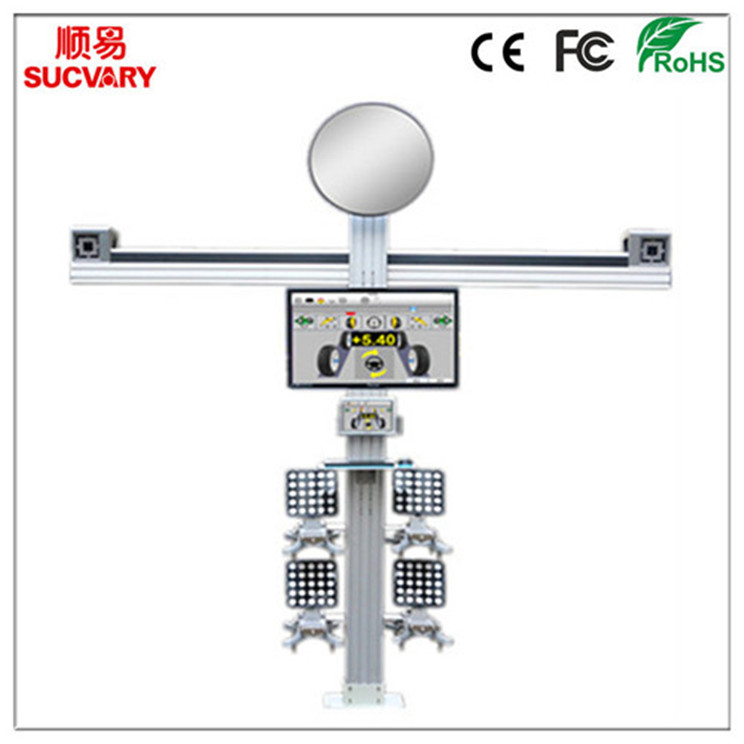 No Calibration 3D Wheel Alignment Equipment