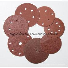 Aluminiumoxid Klettverschluss Schleifen Disc
