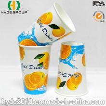 12 Oz tasse en papier jetable boisson fraîche pour le jus