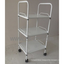 Adjustable Powder Coating Metal Steel Board Trolley (CJ-C1169R)