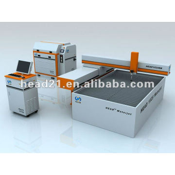 1500 * 2500mm tragbare Wasserstrahlschneidemaschine für Gasrohr
