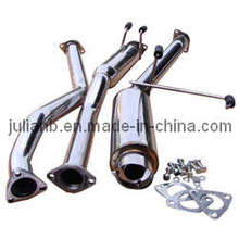 Cat Back, Exhaust System (JS-CB-005) for Civic 2001up 2/4 Dex