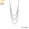 Pearl and Crystal Necklace by China Manufacturer