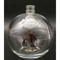 Botella de Perfume Vintage Vaso Vacío Recargable Corto
