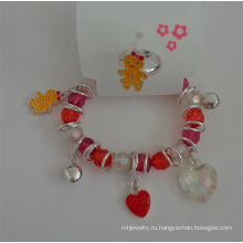 Набор от & животных сердце эластичное браслет и кольцо