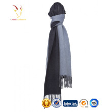 Дамы зима кашемир длинной бахромой шарф для женщин