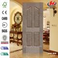 4 Panels Padouk Veneer MDF Door Skin