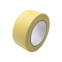 Fita adesiva de papel crepom para pintura de carro resistente ao calor 100 graus amarelo