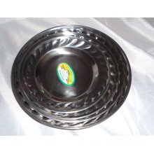 2015 Hot Sale Stainless Steel Dinner Plate