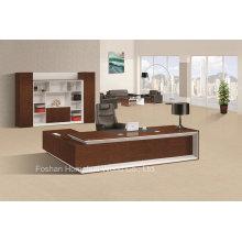 Mobilier de bureau moderne Bureau de bureau exécutif Bureau de bureau Big Boss (HF-LW0100)