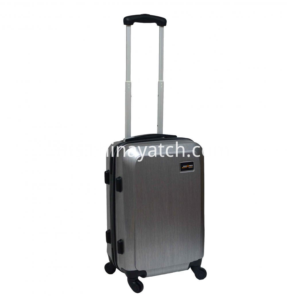 ABS Scratch&Printed Carry-on Trolley Case