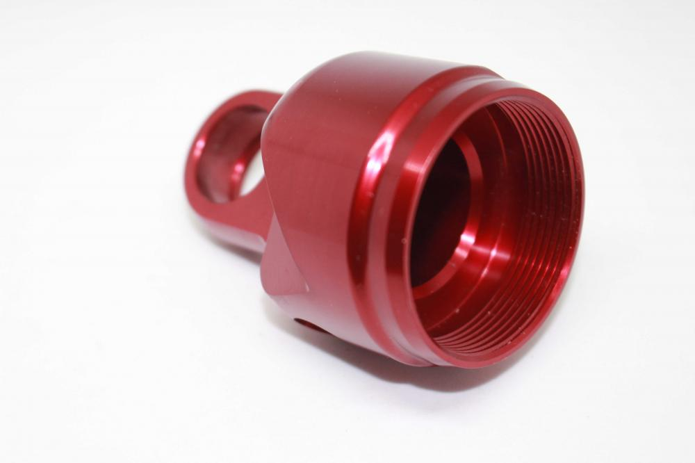 Anodized Red Shock Head