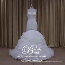 милая органзы свадебное платье русалка, платье 2017 для новобрачных